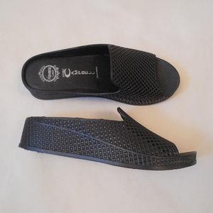 Jeffrey Campbell Slides Shoes Havana Last Plastic